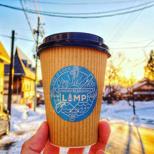 赤倉温泉スキー場でCOFFEE SHOP LAMP始めました。
