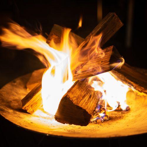 満天の星空の下、大自然の夜を満喫する「焚き火×ウイスキー」パック!