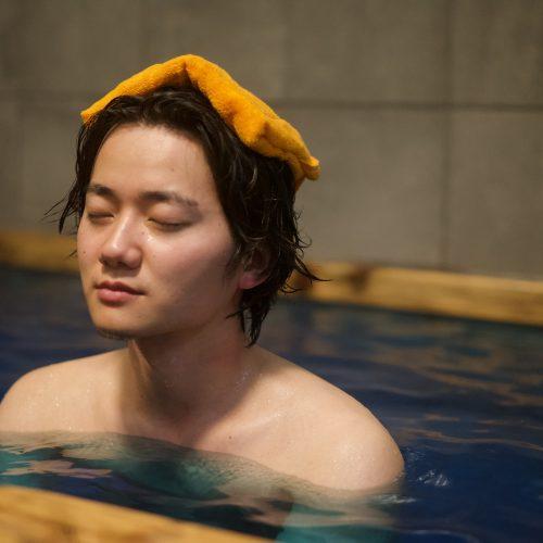 サウナ水風呂森林浴!! 入浴剤はじめました♨